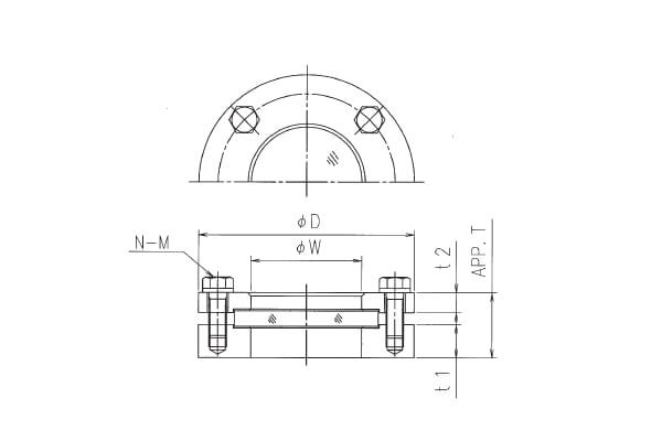G2 溶接式円形タイプ