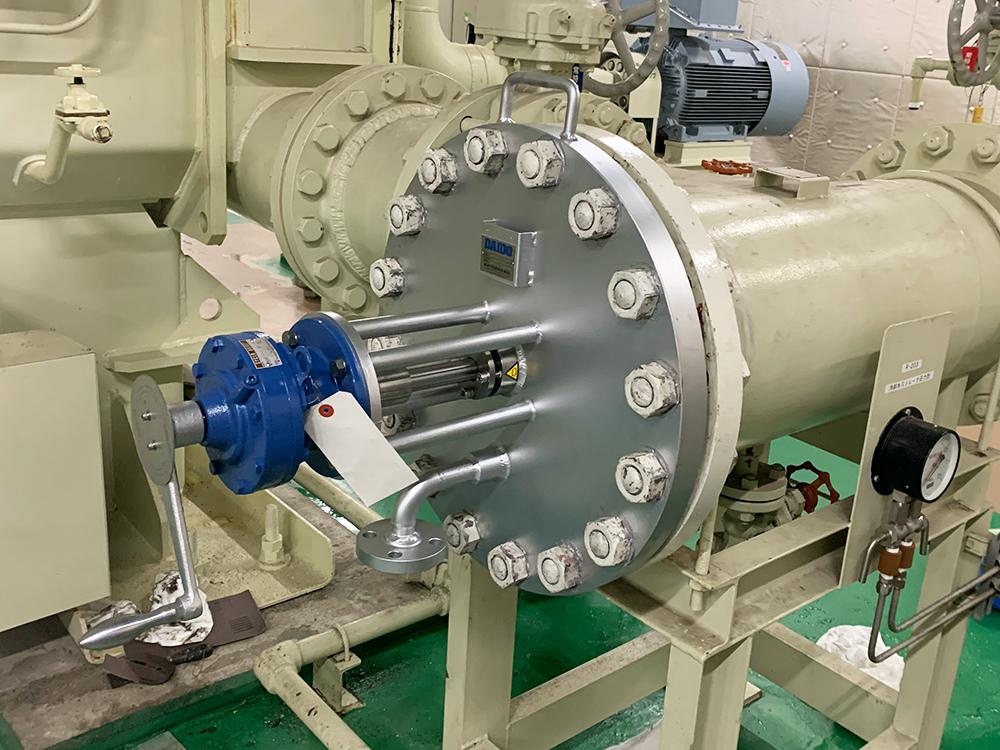メーカー問わず既設ストレーナを手動洗浄式に改造可能。低予算でコスト削減。